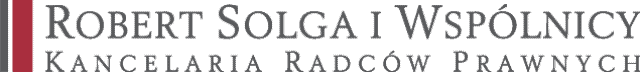 Logo Robert Solga iWspólnicy Kancelaria Radców Prawnych
