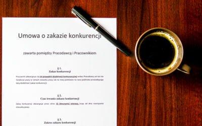 Umowa ozakazie konkurencji – 6 rzeczy, które musisz wiedzieć, zanim ją podpiszesz